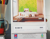 Creative Calendar Design | Nippon Paints India