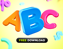 Alfabeto 3D - Free Download