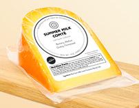 Summer Milk Comté Cheese Label