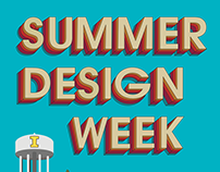 Summer Design Week Poster