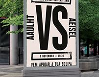 Poster University Futsal game