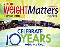 Your Weight Matters Magazine - Summer 2015