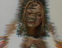 Modesl in glitch