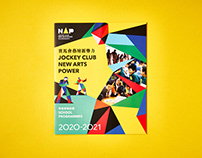 New Arts Power School Programmes booklet