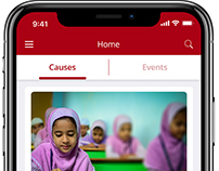 iPhone X App - Charity App