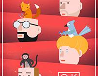 OK GO, Concert Poster Re-Design