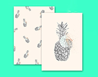Graphic Ananas