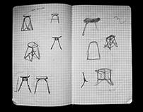 Skateboard Chair. Recycling. Furniture. Design.