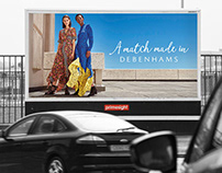 Debenhams Summer 2018 Brand campaign.