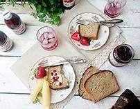 Nasze domowe and Premium Rosa degustation