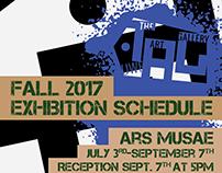 TAG Art Gallery Calendar