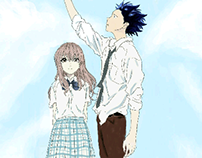 Koe no Katachi (A silent voice)