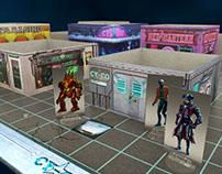 Cy-Co Western - Cyberpunk Boardgame + Kickstarter
