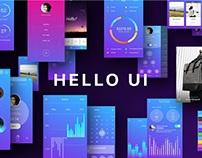 Hello UI Kit by Yuriy Kondratkov