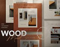 Mood Wood - Instagram Template + SG