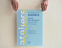 Destination Ateliers, leporello
