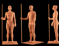 Figure Modeling of William Standing