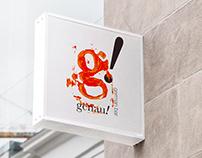Genau! German Bar Visual Identity