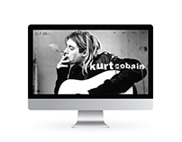 Kurt Cobain Website