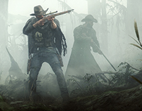 Hunt: Showdown Concept art