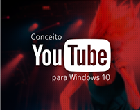 Conceito - Youtube para Windows 10