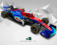'Re:imagined' - Jordan Hart 194 Livery