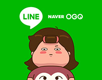 Carry's Today 01 LINE Sticker Design