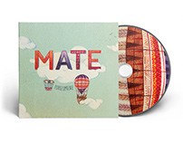 CD cover for MATE band