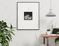 Frame Mockup Nordic Style