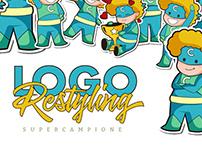 SUPERCAMPIONE - Logo Restyling