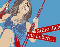 Freie Bühne Wendland / Postkarte, Illustration