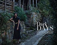Dark Days/ Grazia November 2015