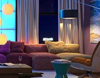 Dubai Loft - 3D Visualisation