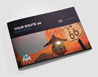 A&K Motorcycle Rentals | Road book design