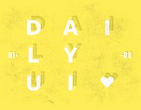 Daily UI 61-80