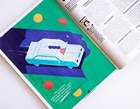 Illustration for Sante magazine