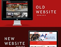 Website Comparation of the Old to the Revamped Design