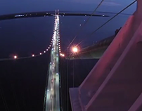 2012 Labor Day Mackinac Bridge Walk Timelapse
