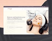 Landing Page for Medi Spa Salon