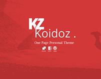 Koidoz  - Free Psd Template