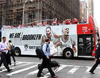 Brooklyn Nets 2014-15 Double Decker Bus