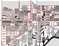 Pilsen and Lower West Side Map