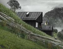 alpine cabins