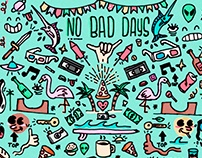 No Bad Days Illustration
