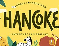HANCOKE ADVENTURE FUN DISPLAY - FREE FONT