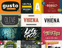 Outstanding Fonts & Graphics