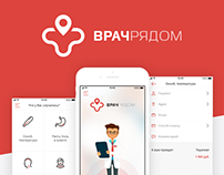 Mobile App - Vrach Ryadom