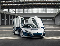 Rimac C:Two Supercar Launch Photography