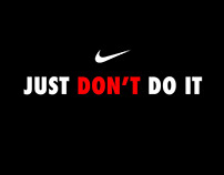 Nike | Just don't do it (Concept)
