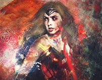 Wonder Woman -Digital Art-